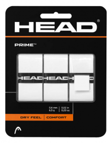HEAD Prime Overgrip White (3 pieces)