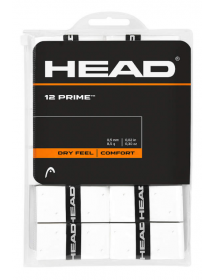 HEAD Prime Overgrip White (12 pieces)