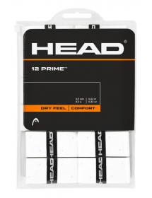 HEAD Prime Overgrip White (12 pieces)