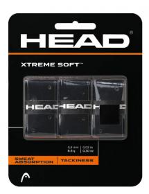 HEAD Xtreme Soft Overgrip noir (3 pièces)