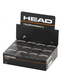 HEAD ballon de squash tournament (12 pièces)