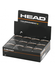 HEAD Tournament Squash Ball (12 Stk)