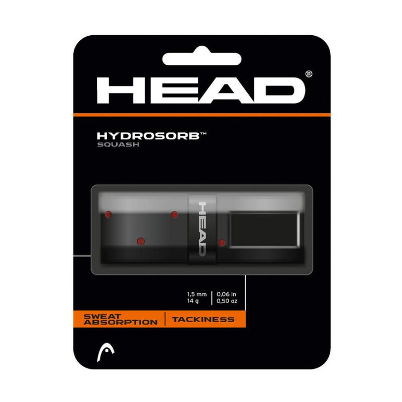 HEAD Hydrosorb Squash Basisband (schwarz/rot)