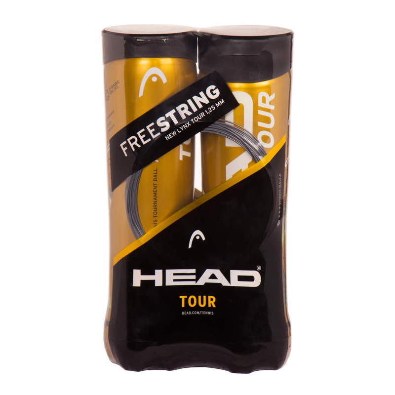 Head Tour Swiss Official 4-pack (2 pieces)