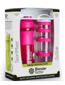 Blenderbottle Combo Pack Pink (1 pcs)