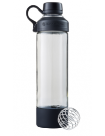 BlenderBottle Mantra Glas Schwarz (600ml)