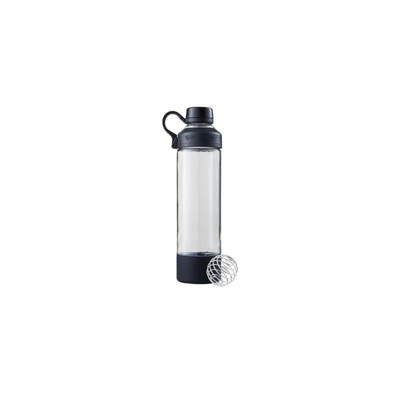 BlenderBottle Mantra Glas Black (600ml)
