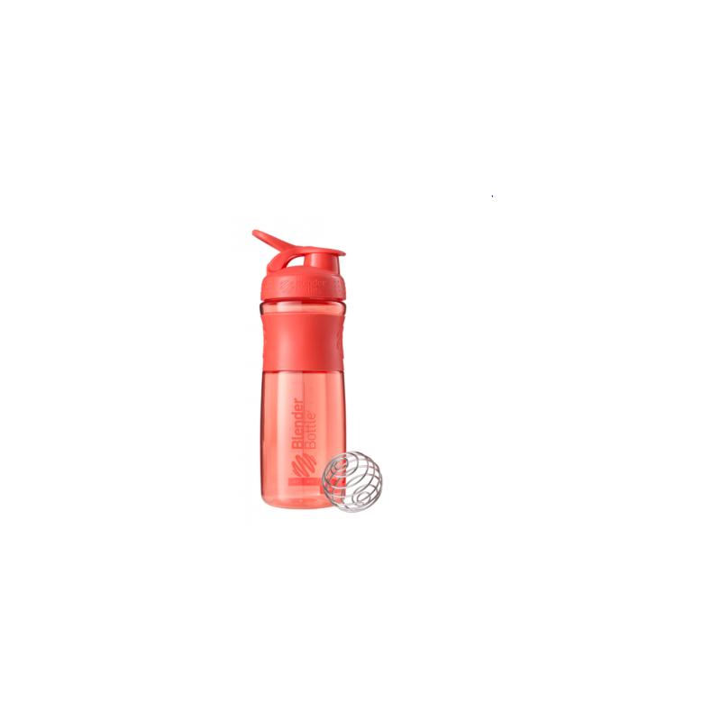 Blender Bottle Sport Mixer Tritan Grip Coral (820ml)