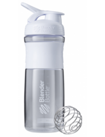 Blender Bottle Sport Mixer Tritan Grip White (820ml)
