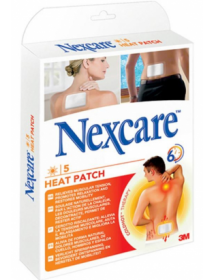 3M Nexcare Heat Patch (5 pièces)