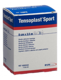 Tensoplast Sport elastic adhesive bandage (8cm x 2.5m)