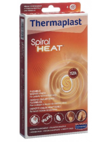 Thermaplast Spiral Heat heating pads flexible (4 pcs)