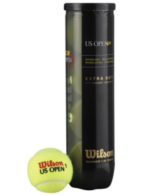 Wilson US Open tennis ball (4-pack)