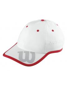 Wilson Cap (weiss / rot)