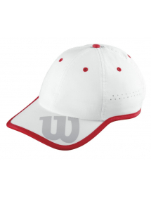 Wilson Cap (white / red)