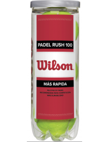 Wilson Padel Rush 100 (box of 3)