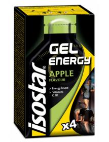 isostar Energy Gel Apfel (4x35g)
