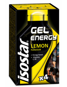 isostar Energy Gel Lemon (4x35g)