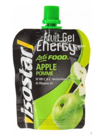 isostar Actifood Fruit Gel Energy Apple (90g)