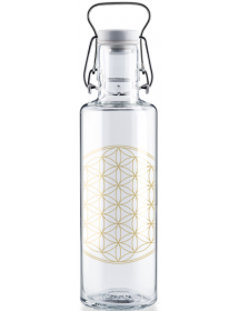 Soulbottle Flower of Life with handle (0.6l)