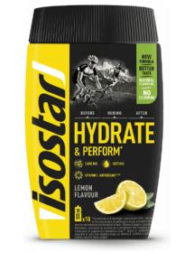 isostar Hydrate & Perform Zitrone (400g)