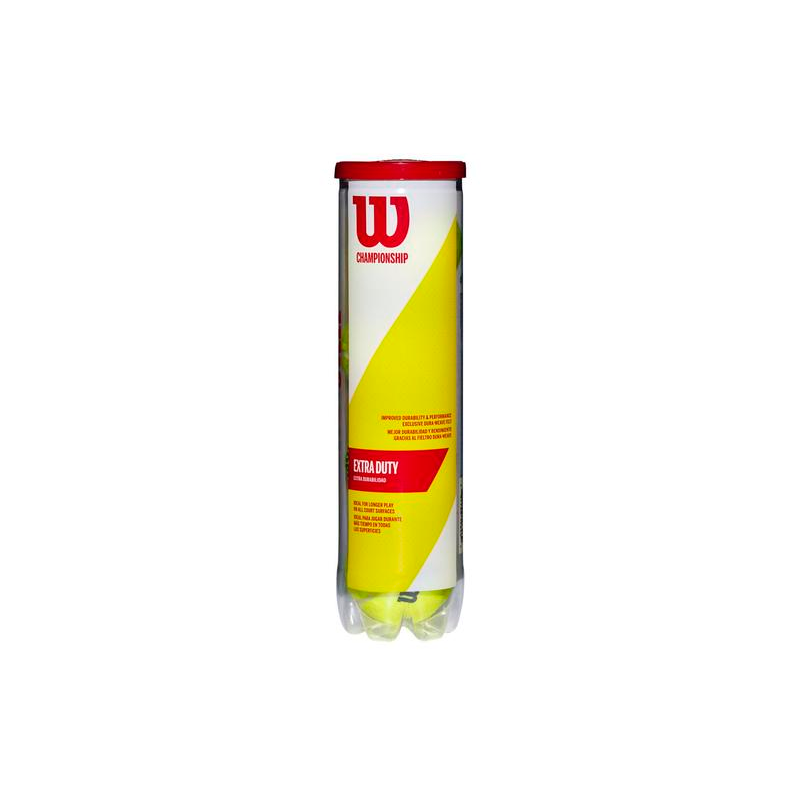 Wilson Championship Extra Duty Tennis Ball (Can of 4)