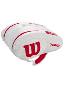 Wilson Padel Bag (blanc / rouge)