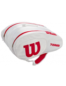 Wilson Padel Bag (white / red)