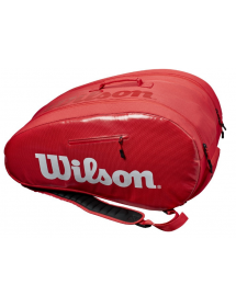 Wilson Padel Super Tour Bag (red / white)