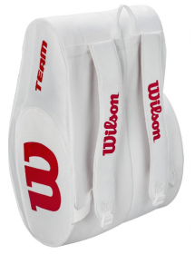 Wilson Padel Bag (white / red)
