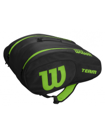 Wilson Padel Bag (black / green)