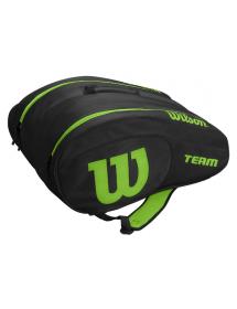 Wilson Padel Tasche (schwarz / grün)