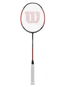 Wilson Blaze 270 Badminton Racket (black / red)