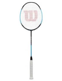Wilson Blaze 370 Badminton Racket (black / blue)