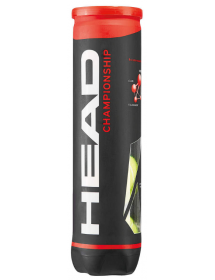HEAD CHAMPIONSHIP tennis ball (can of 4)