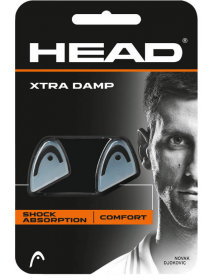 HEAD XTRA DAMP (weiss/schwarz, 2 Stk)