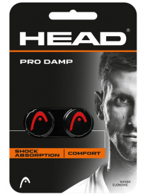 HEAD PRO DAMP black / red (2 pcs)
