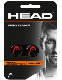 HEAD PRO DAMP noir / rouge (2 pièces)