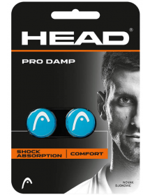 HEAD PRO DAMP bleu / blanc (2 pcs)