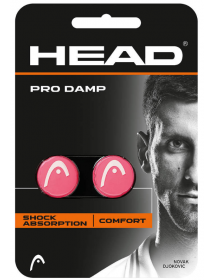 HEAD PRO DAMP pink / white (2 pcs)