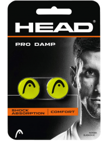 HEAD PRO DAMP yellow / black (2 pcs)