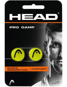 HEAD PRO DAMP gelb / schwarz (2 Stk)