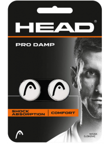 HEAD PRO DAMP blanc / noir (2 pièces)