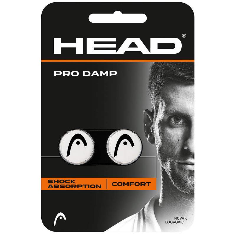 HEAD PRO DAMP weiss / schwarz (2 Stk)