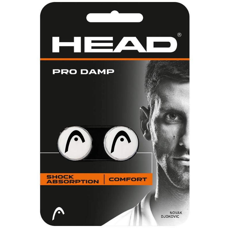 HEAD PRO DAMP white / black (2 pcs)