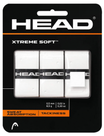 HEAD Xtreme Soft Overgrip weiss (3 Stk)