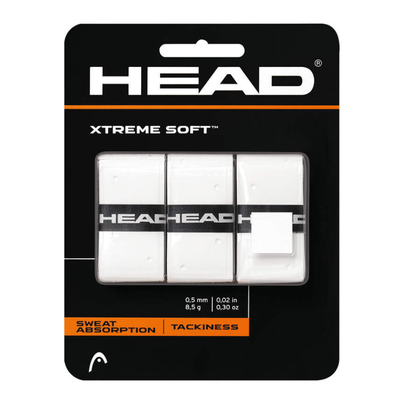 HEAD Xtreme Soft Overgrip white (3 pieces)