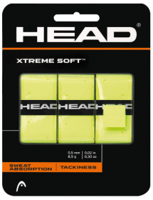 HEAD Xtreme Soft Overgrip gelb (3 Stk)