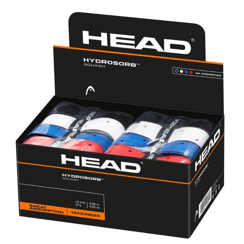 HEAD Hydro Sorb Squash Box (24 pcs)