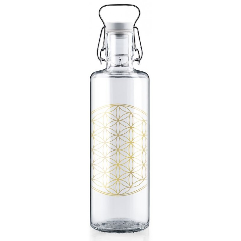 Soulbottle Flower of Life with handle (1l)